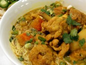 Curry Chicken Rice Noodle